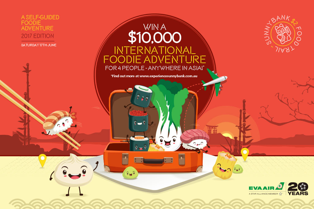 Blog win foodtrail2017 - WIN a $10,000 International Foodie Adventure for 4 people!