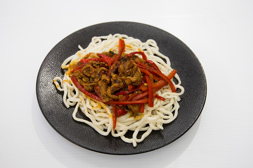 NaratiNoodles Dish Lamb and capsicum noodles - Lamb and Capsicum Noodles
