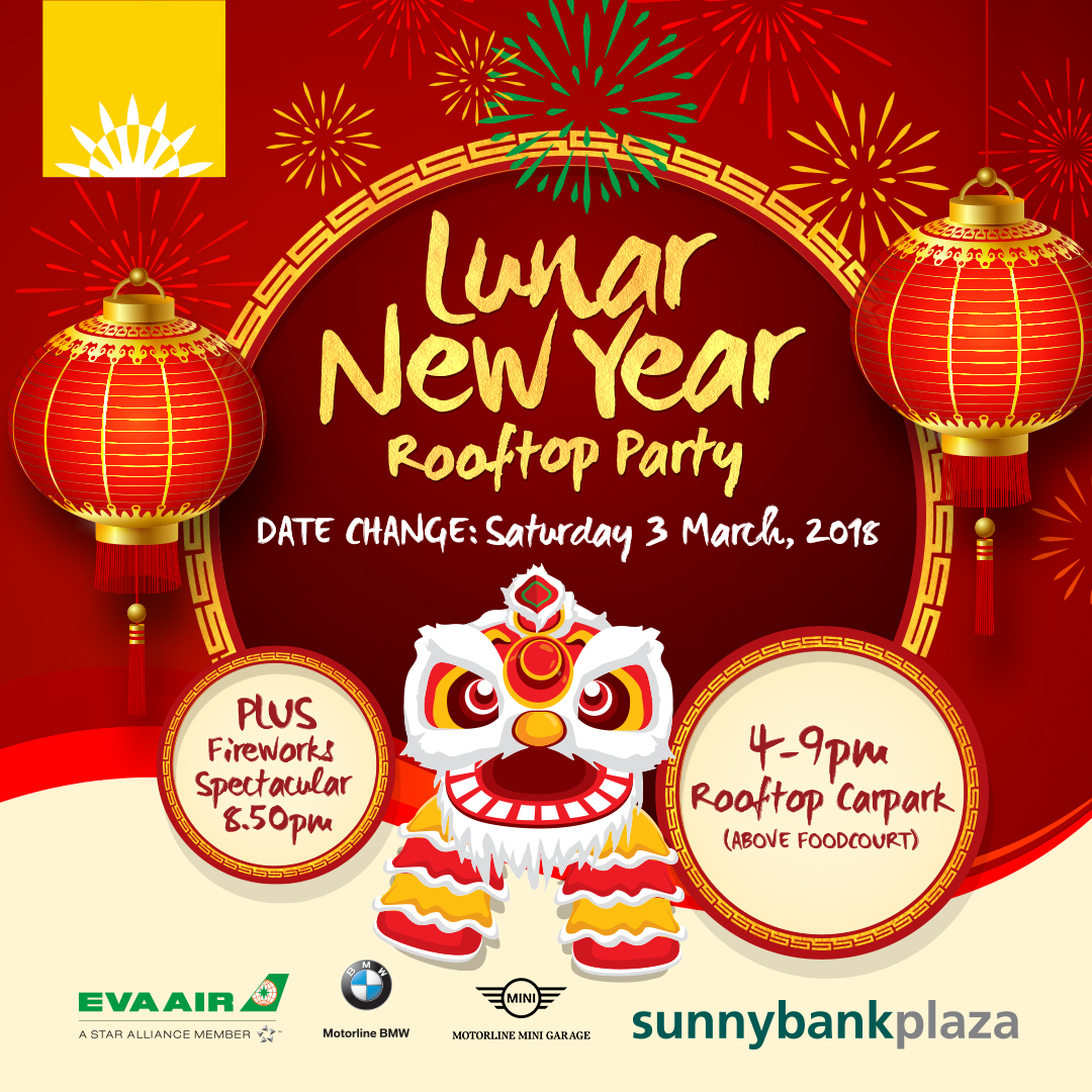 1191SBP Sunnybank Plaza Lunar New Year 1080px - Lunar New Year Rooftop Party!