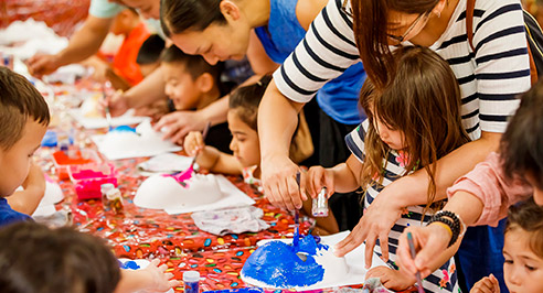 kids craft - Lunar New Year Events Program 22-26 January, 2020