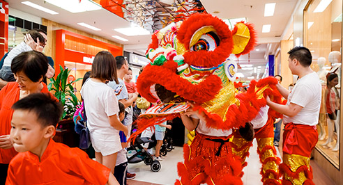 lion dance - Lunar New Year Events Program 22-26 January, 2020